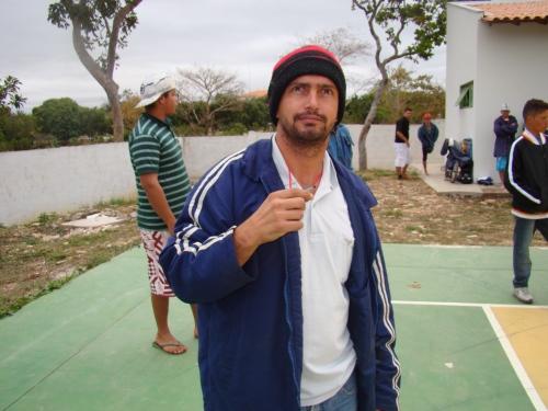 Willian Váz um dos organizadores do 1º Torneio de Futsal da CUFA