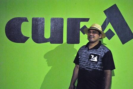 Juliano Dias organizador do evento