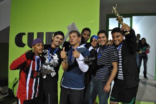 Os Bate Bate levaram o troféu de 3º lugar com muita honra