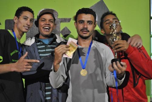 Os Humildes - 1º  lugar no Torneio de Futsal da CUFA
