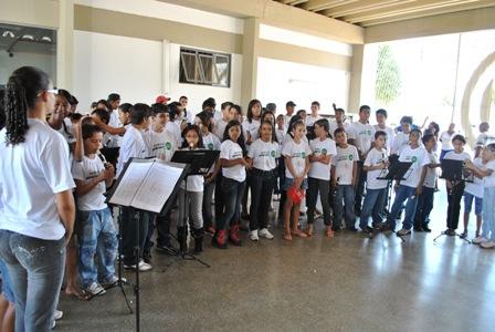 Coral e Orquestra de flauta do Instituto Cultural Flauta Mágica