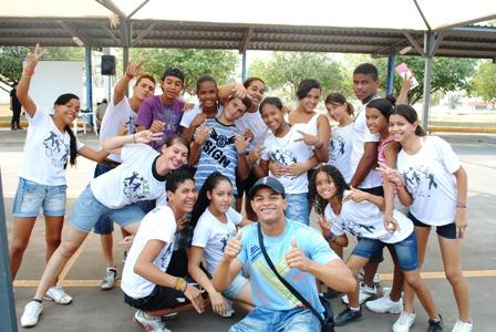 Grupo de dança da CUFA Cuiabá