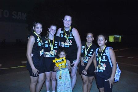 """Equipe """"As Mina"""" campeã da LIIBRA-MT 2010"""