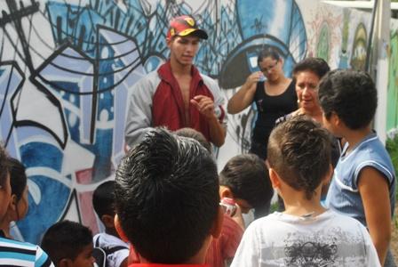 Orientações básicas sobre grafite com Diogo Rodriugues