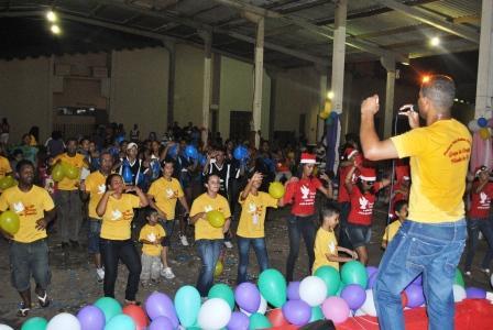 Público animado no 14º Kairós