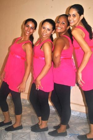 Grupo de dança Anjos de Deus- Comunidade São Benedito- bairro Nova Esperança