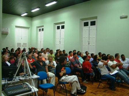Reunião do Fórum Estadual de Cultura de Mato Grosso no pleito de 2010
