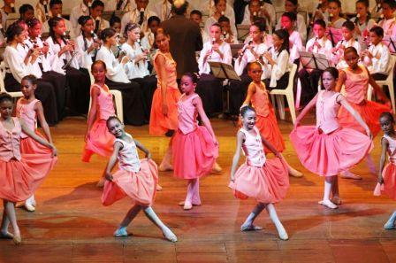 Ballet Flauta Mágica em apresentação