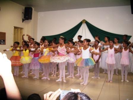 Apresentação do Ballet