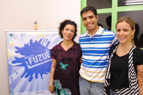 Mazé Oliveira e o Assessor do Dep. Estadual José Riva ,Lilo Pinheiro