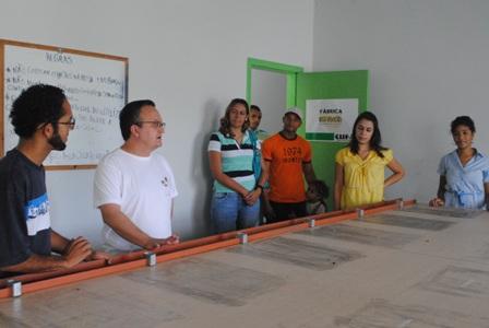 Visita dos convidados a Sericufa,empreendimento Social de Sustentabilidade