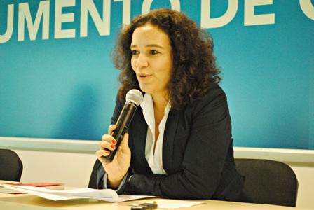 Jornalista Geórgia Pinheiro