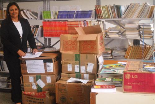 Reforço para a biblioteca do CECC (Centro Esportivo e  Cultural CUFA)