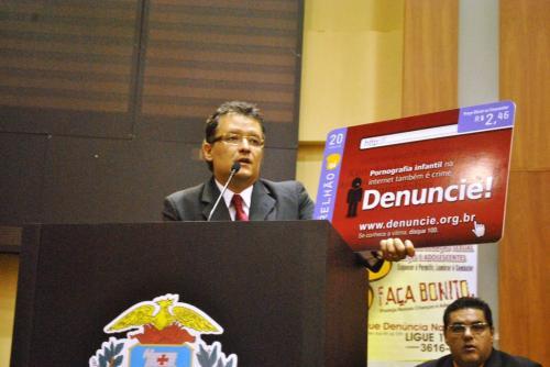 Cartão telefonico tematico apresentado por Guilherme Luiz Teixeira Alves,Gerente de Relações Institucionais da OI