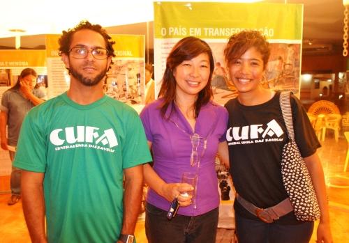 Iriana Tanaka (no meio) faz parte da equipe de Desenvolvimento Regional Sustentável do Banco do Brasil